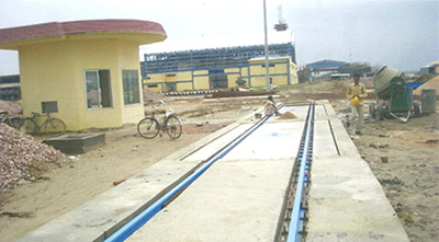 Rail Cum Road Weighbridge, Ahmedabad, Gujarat, India